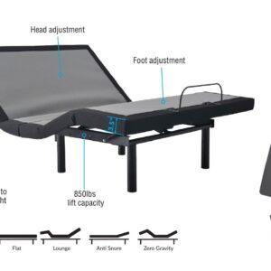 NL 200 Base Adjustable Bed Frame