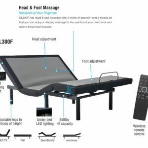 Adjustable Bed Frame - NL 300 Base