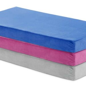 6 inch twin memory foam mattress available in 3 colors