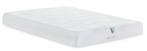8 inch gel memory foam mattress by malouf