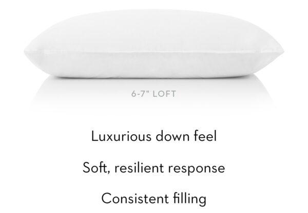 Shredded latex Gelled Microfiber pillow Down Feel, Consistent Filing