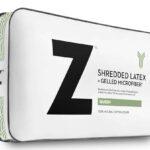 Shredded latex Gelled Microfiber pillow
